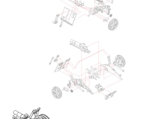 1/144 sIG33 15cm Heavy infantry cannon (J52EV9ULC) by