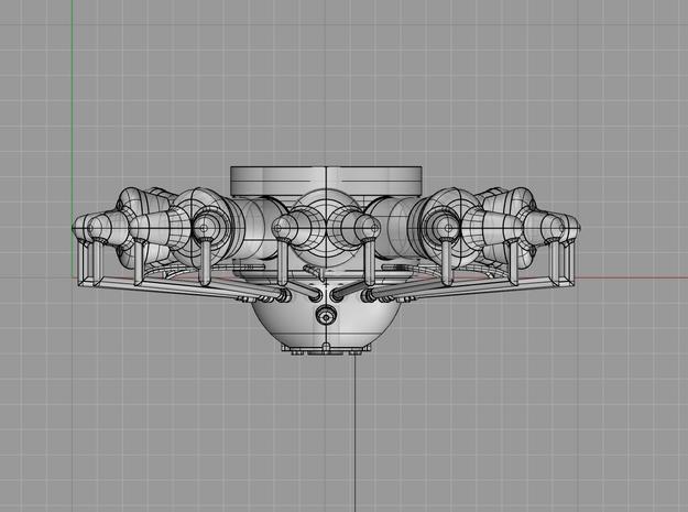 1/48 Pratt & Whitney R-1860 Hornet Aircraft Engine