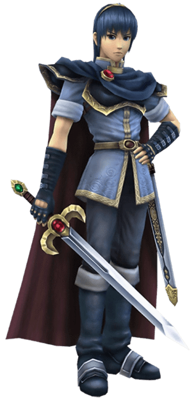 Super Smash Bros. Brawl version of Marth.