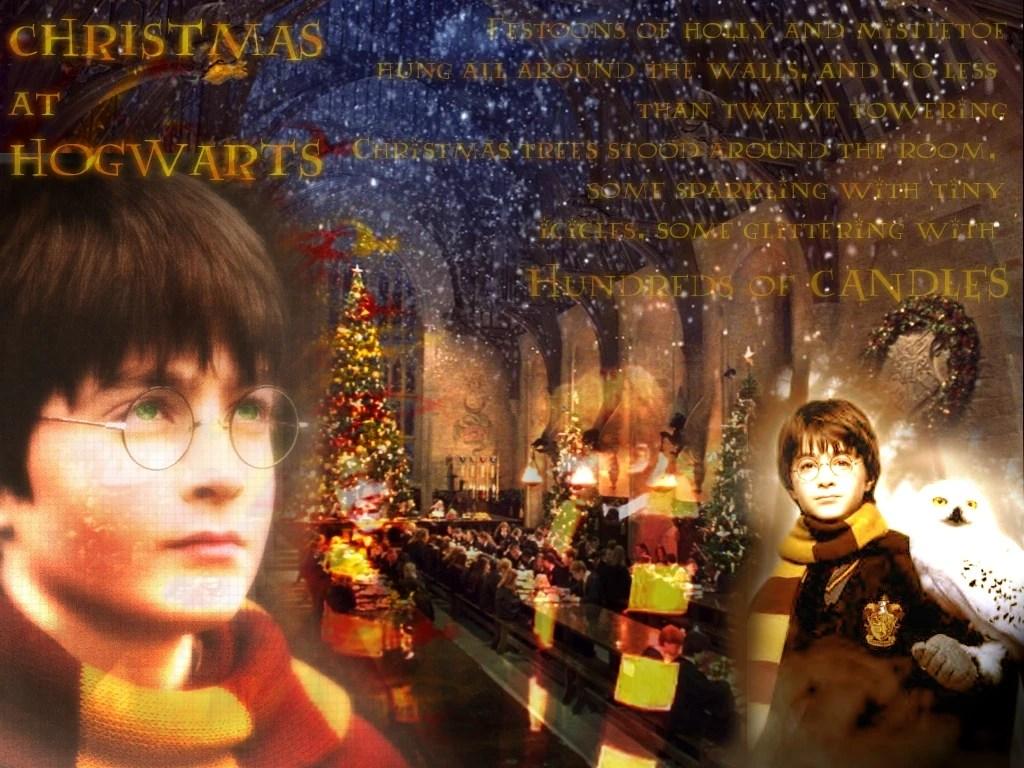 Amazing Wallpaper Harry Potter Christmas - Christmas%40hogwarts  Photograph_626850.jpg?resize\u003d1024%2C768