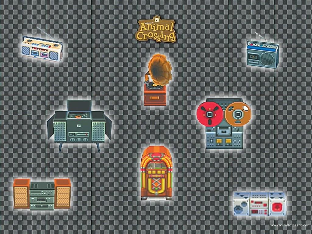 Green Animal Wallpaper Stereo Animal Crossing Wiki