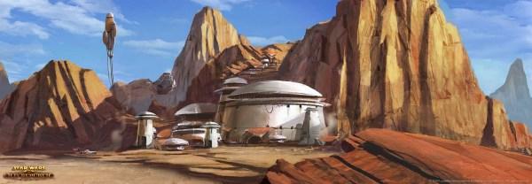 Star Wars Tatooine Concept Art