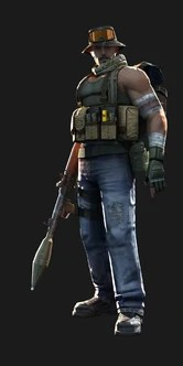 Fennec Project Blackout Character for Counter Strike 1.6 and Condition Zero