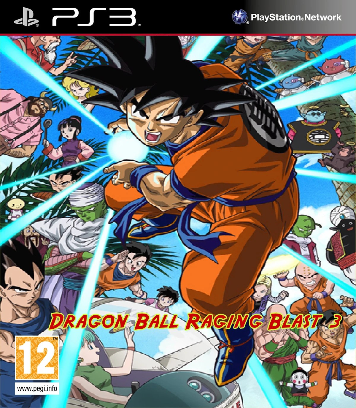 All Z 3 Dragon Blast Ball Characters Raging And Transformations