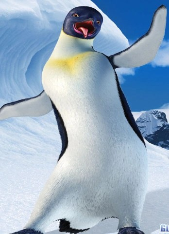 Pink Feathers Falling Wallpaper Gloria Happy Feet Wiki The Movie Based Happy Feet