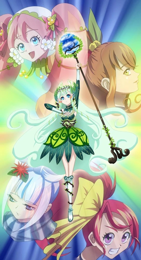 Girl Hugs Boy Wallpaper Pretty Cure Season Touch Fandom Of Pretty Cure Wiki