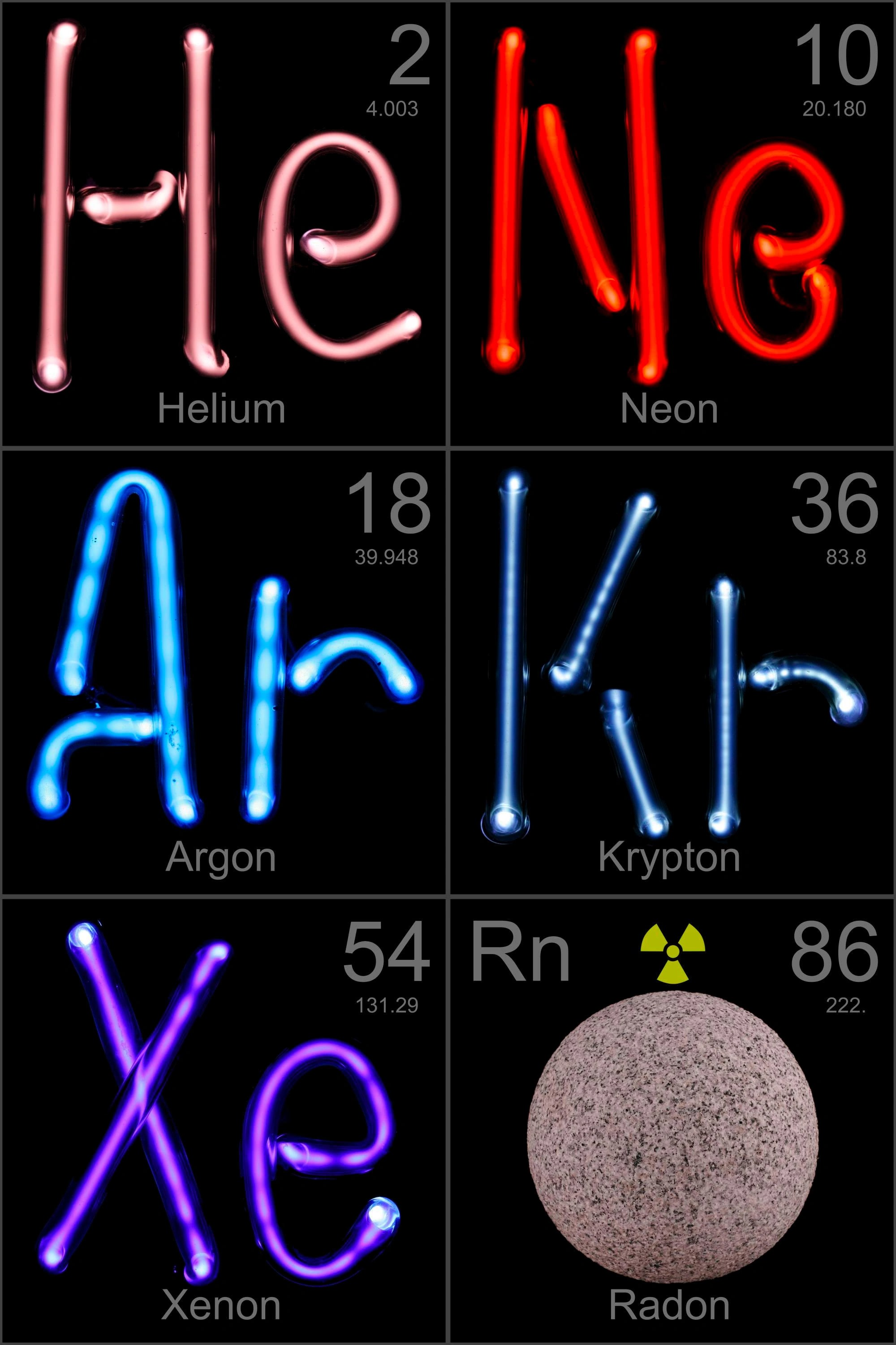 Noble gases - Transuranic Elements Wiki