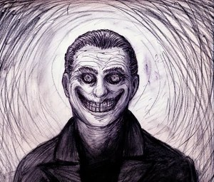The smiling man