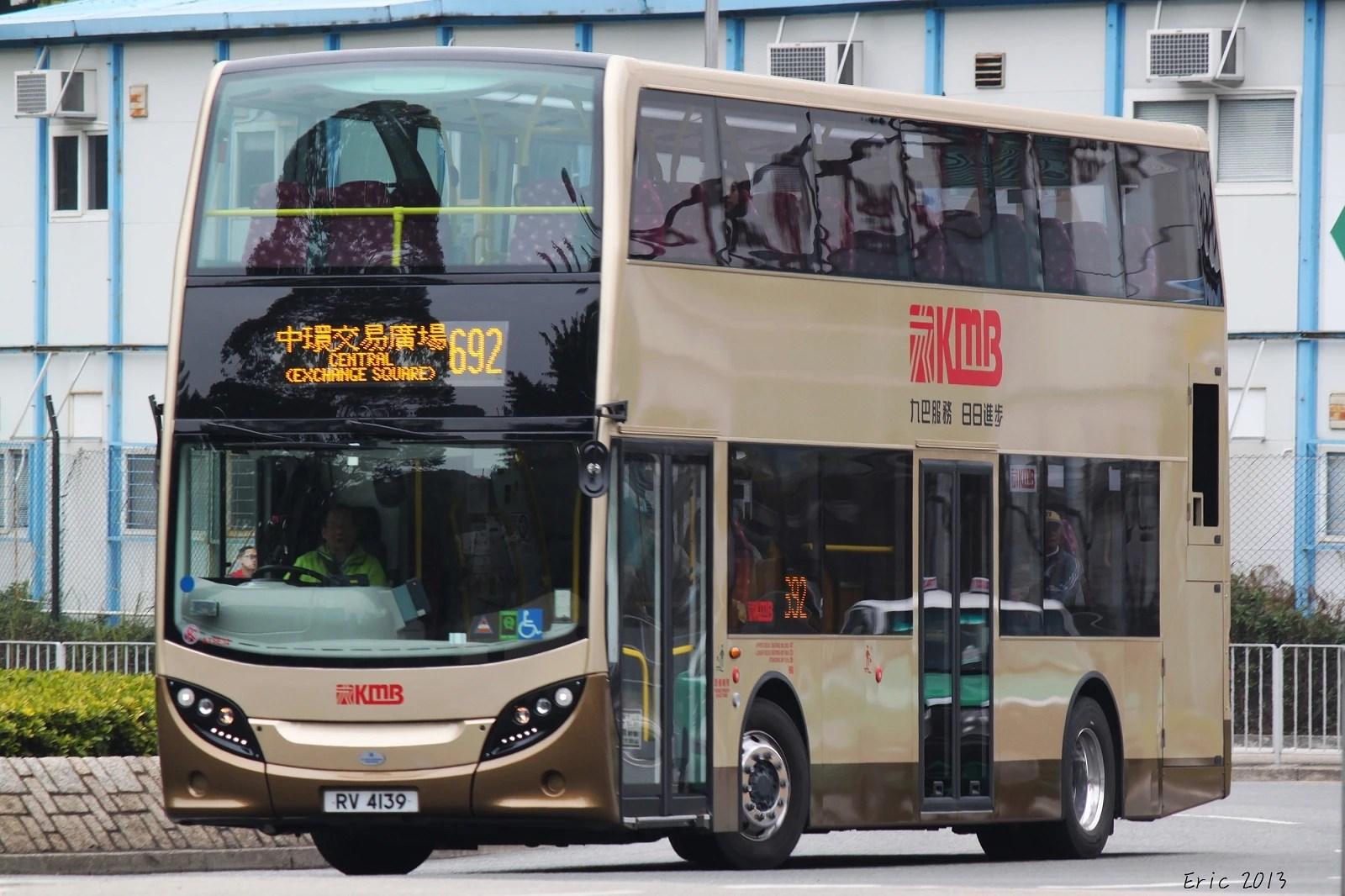 過海隧巴692線 - 香港巴士大典