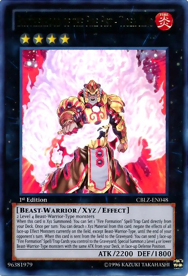 Brotherhood of the Fire Fist-Tiger King   Yugioh Philosophy