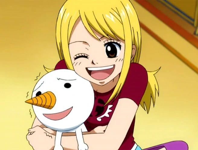 Fairy tail plue and lucy