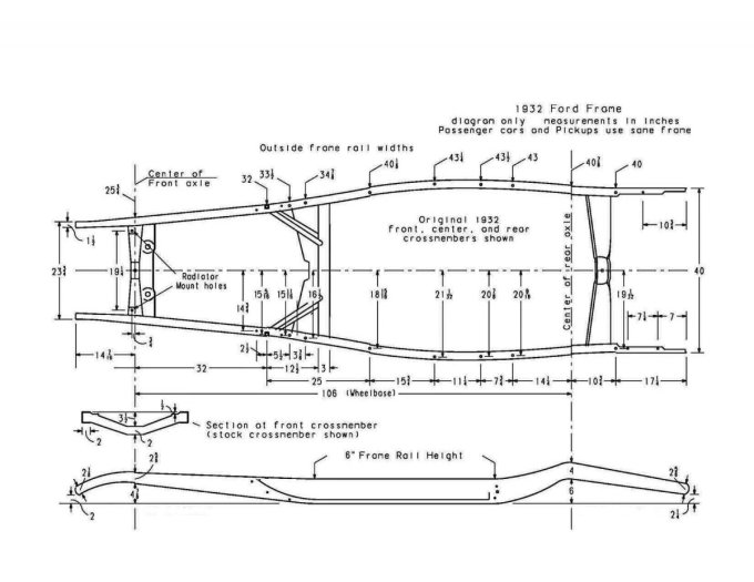 32 Ford Coupe Frame Dimensions | Frameviewjdi.org