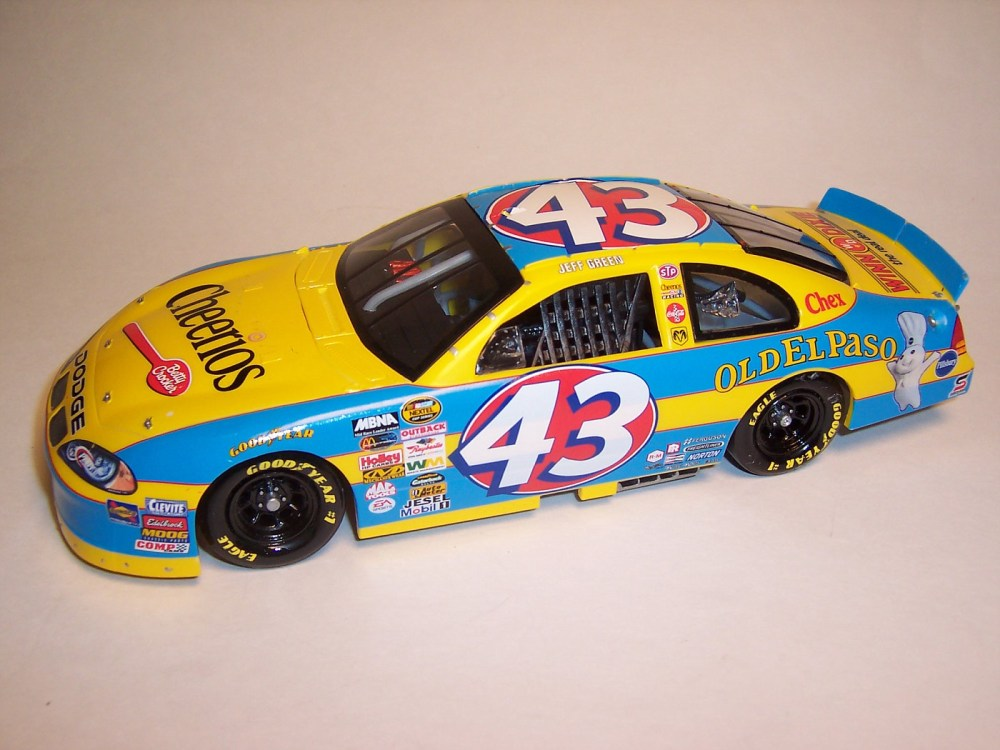 medium resolution of 2004 jeff green 43 cheerios dodge intrepid diecast crazy discussion forums for true collectors