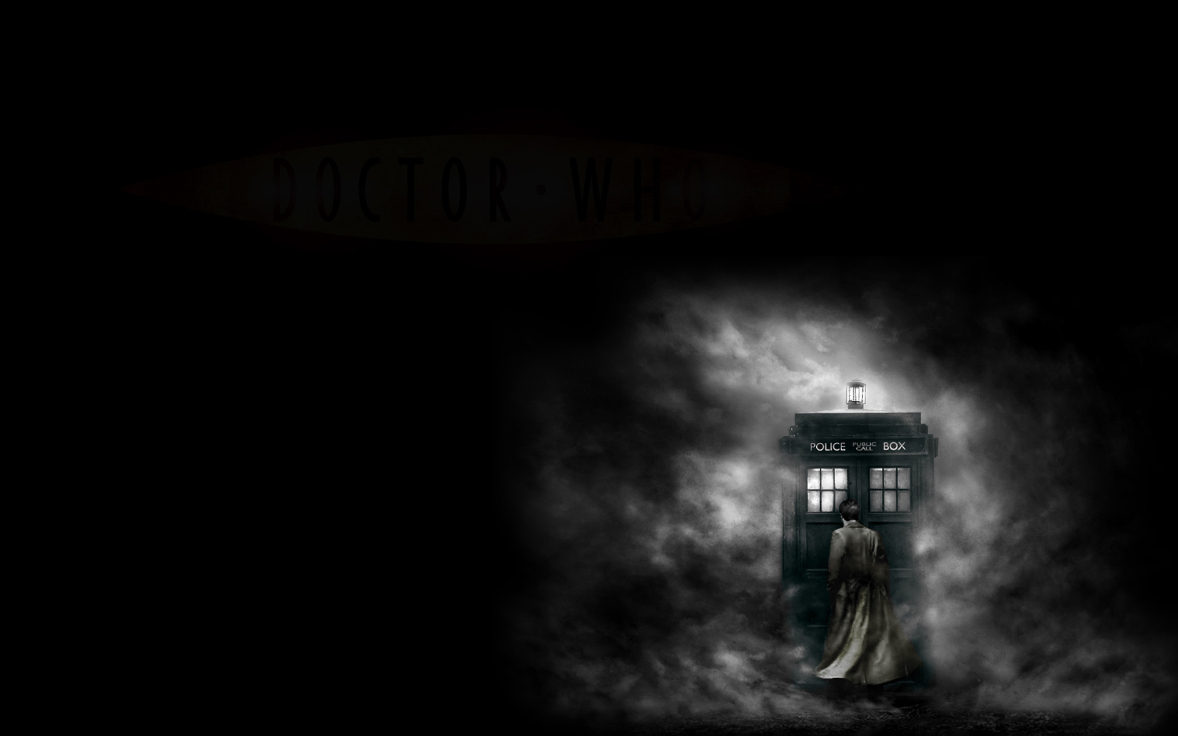 Tenth Doctor Iphone Wallpaper Dark Wallpaper And Background Image 1680x1050 Id 111117