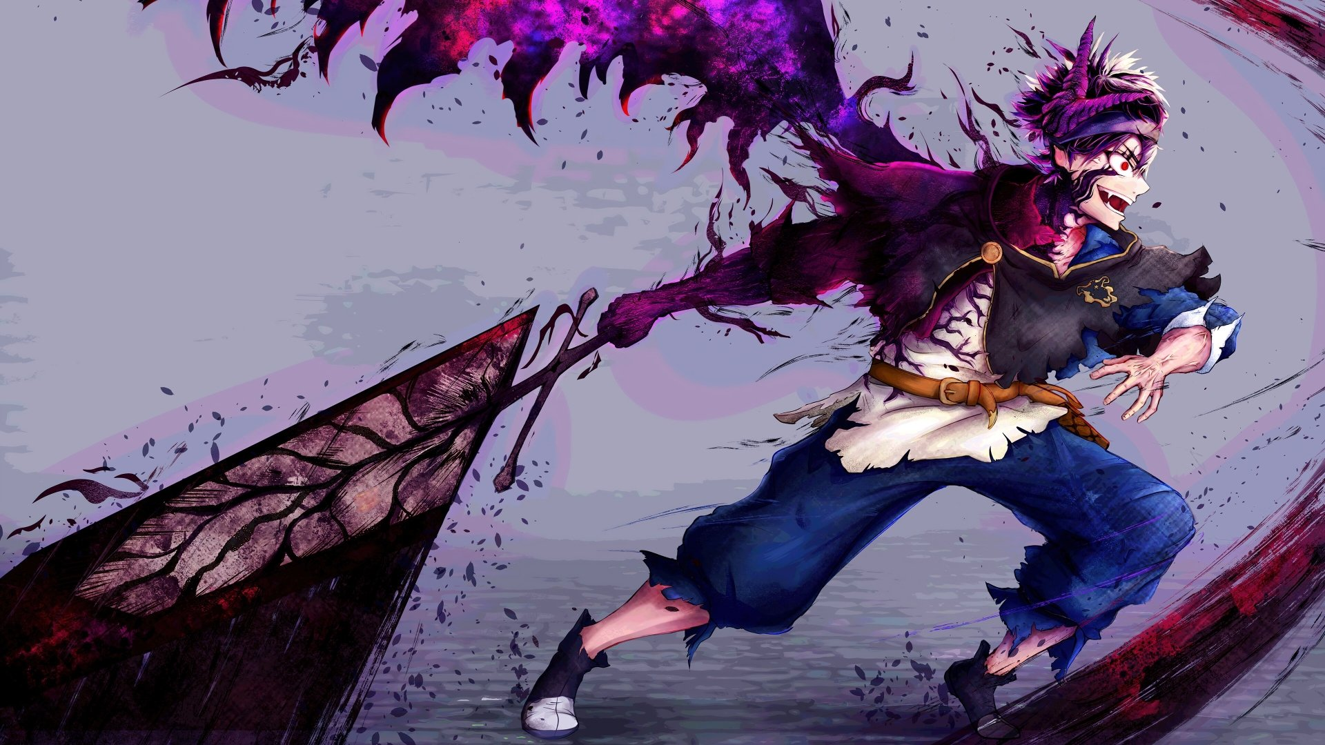 When viewing theatrical films on your hdtv or 4k ultra hd tv, you might still see black bars on the top. Black Clover 4k Ultra HD Wallpaper   Background Image ...