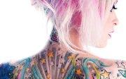 tatouage fonds 'cran arrires-plan