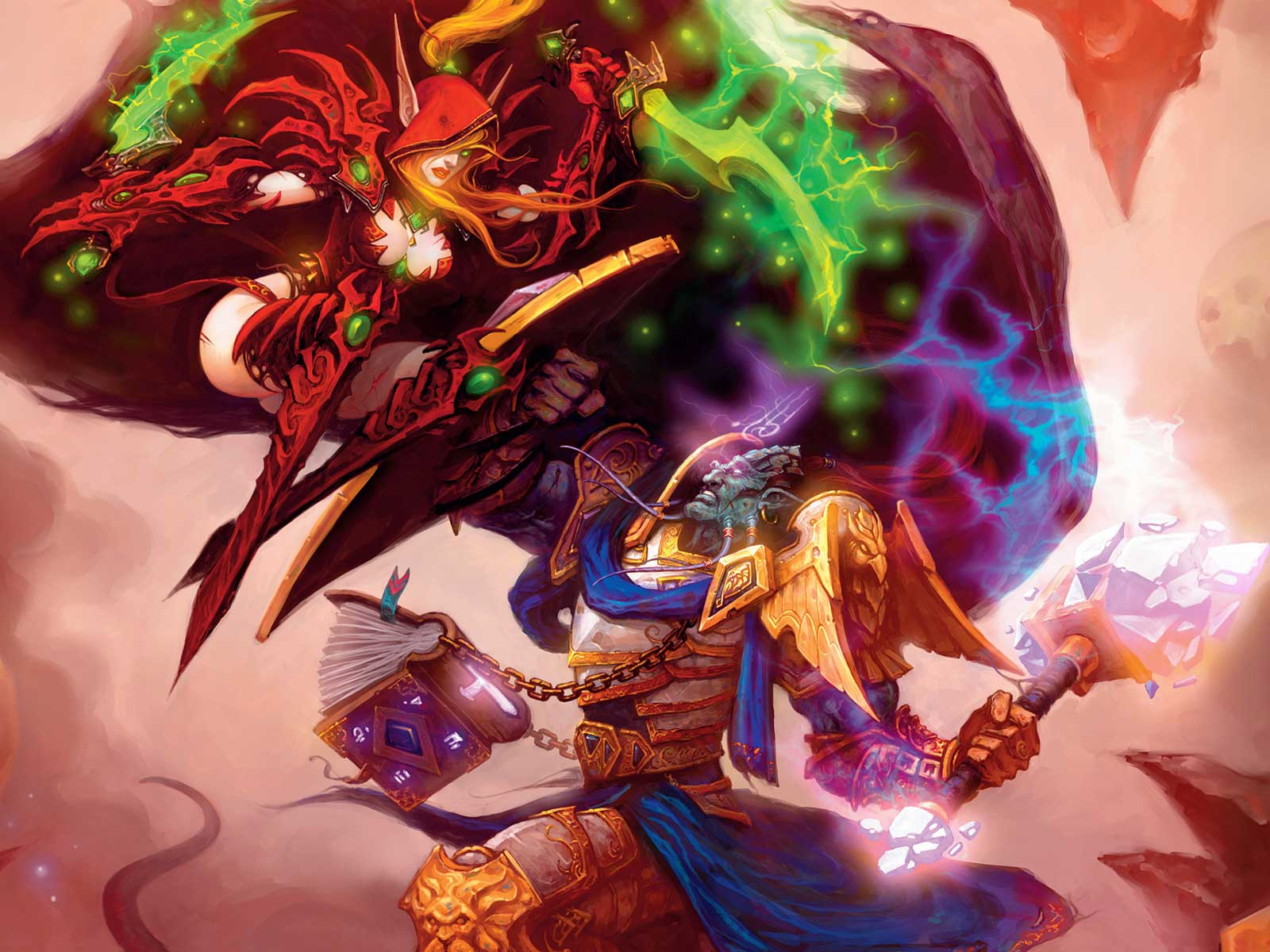 Draenei Girl Wallpaper World Of Warcraft Wallpaper And Background Image
