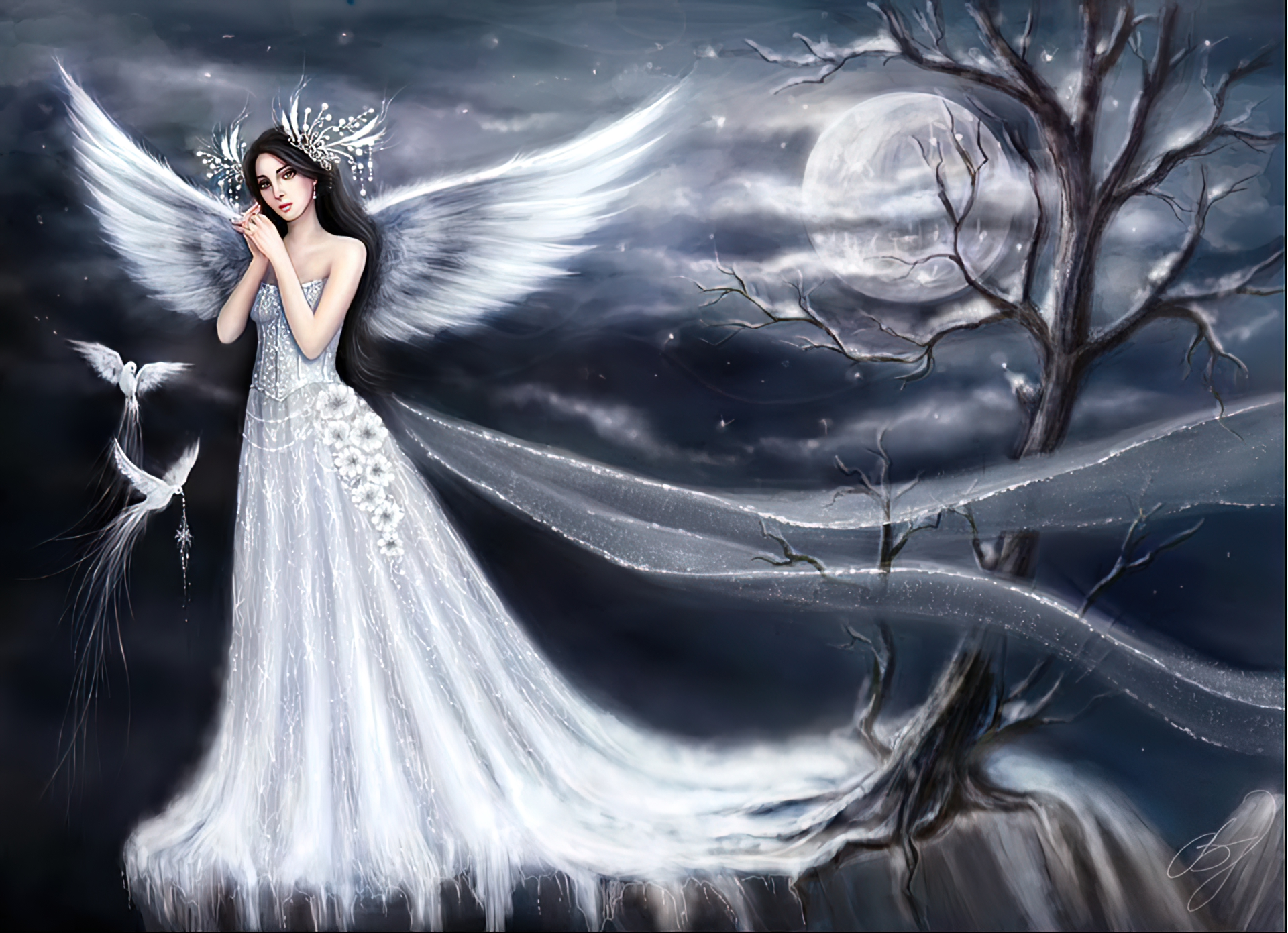 Angel Wallpaper And Background Image 1440x900 ID