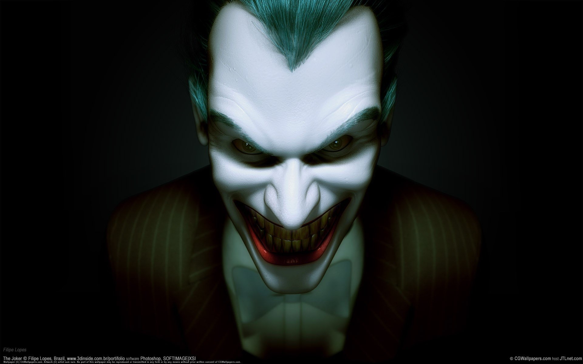 Tato Kartu Joker Simple