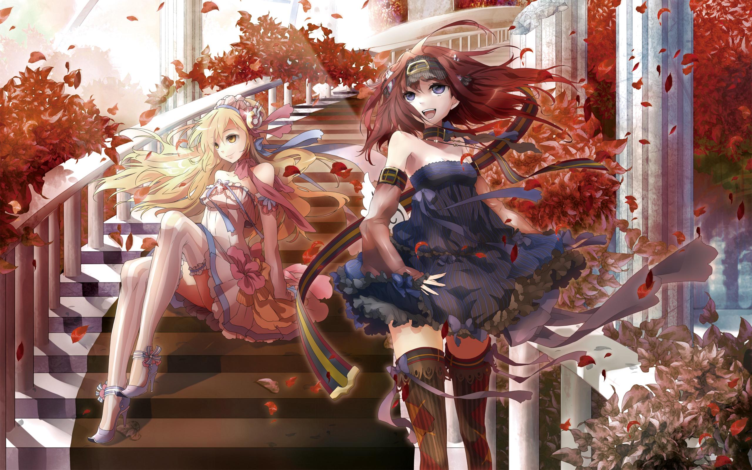 Kitsune Girl Hd Wallpaper Girl Hd Wallpaper Background Image 2560x1600 Id