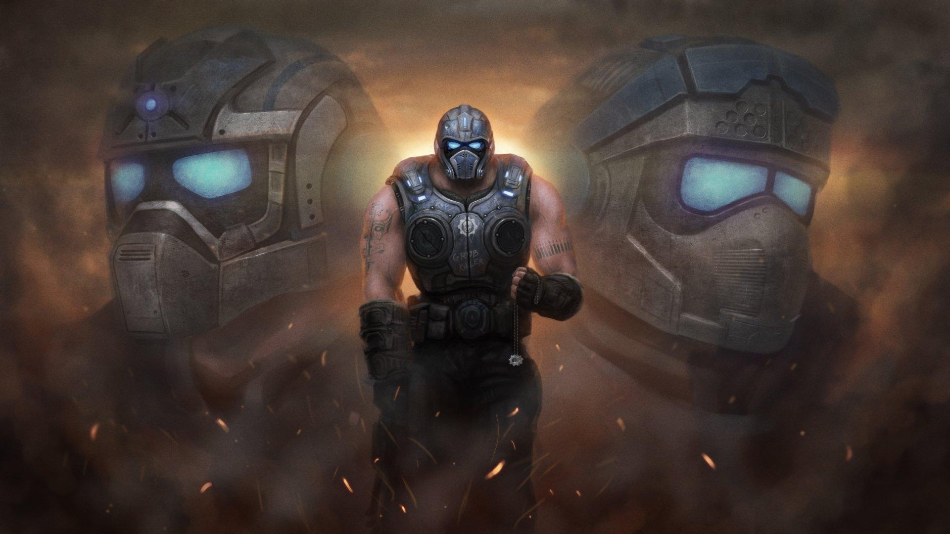 Gears Of War 3 Full HD Fondo De Pantalla And Fondo De