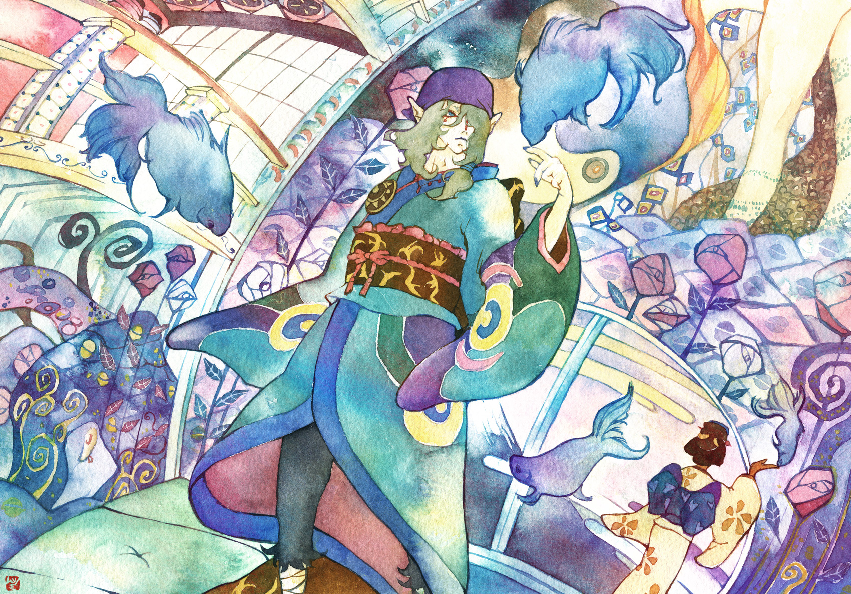 Ghibli Wallpaper Iphone Mononoke Wallpaper And Background Image 1700x1187 Id