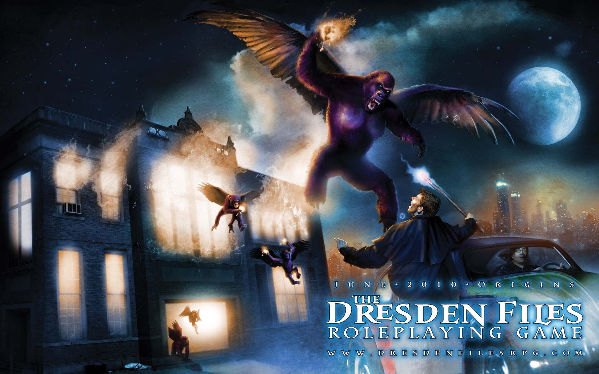 1 The Dresden Files HD Wallpapers Background Images