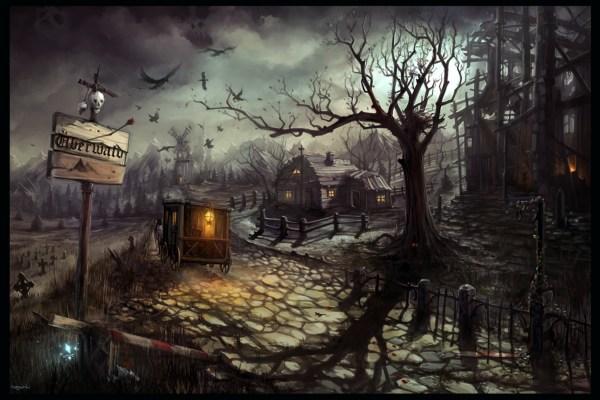 Haunted Hd Wallpaper Background 1932x1288 Id