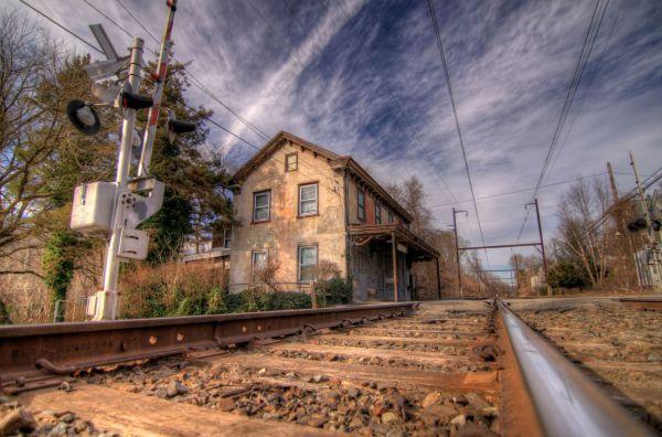 Old Railroad Train Desktops