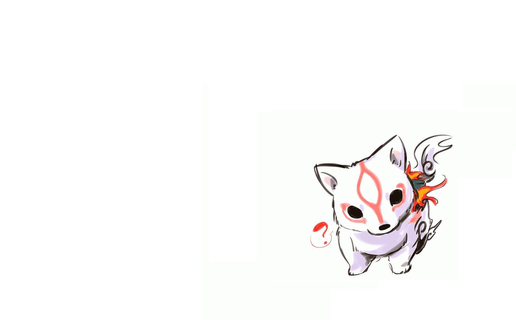 Cute Chibi Anime Desktop Wallpaper Ōkami Wallpaper And Background Image 1680x1050 Id