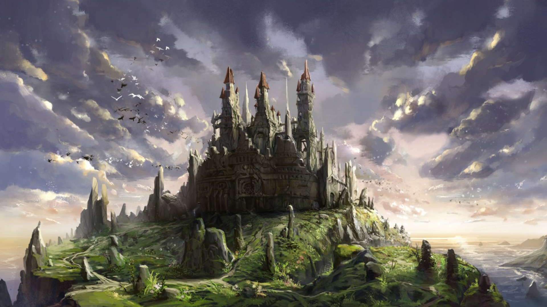 castle full hd wallpaper and background | 1920x1080 | id:267729