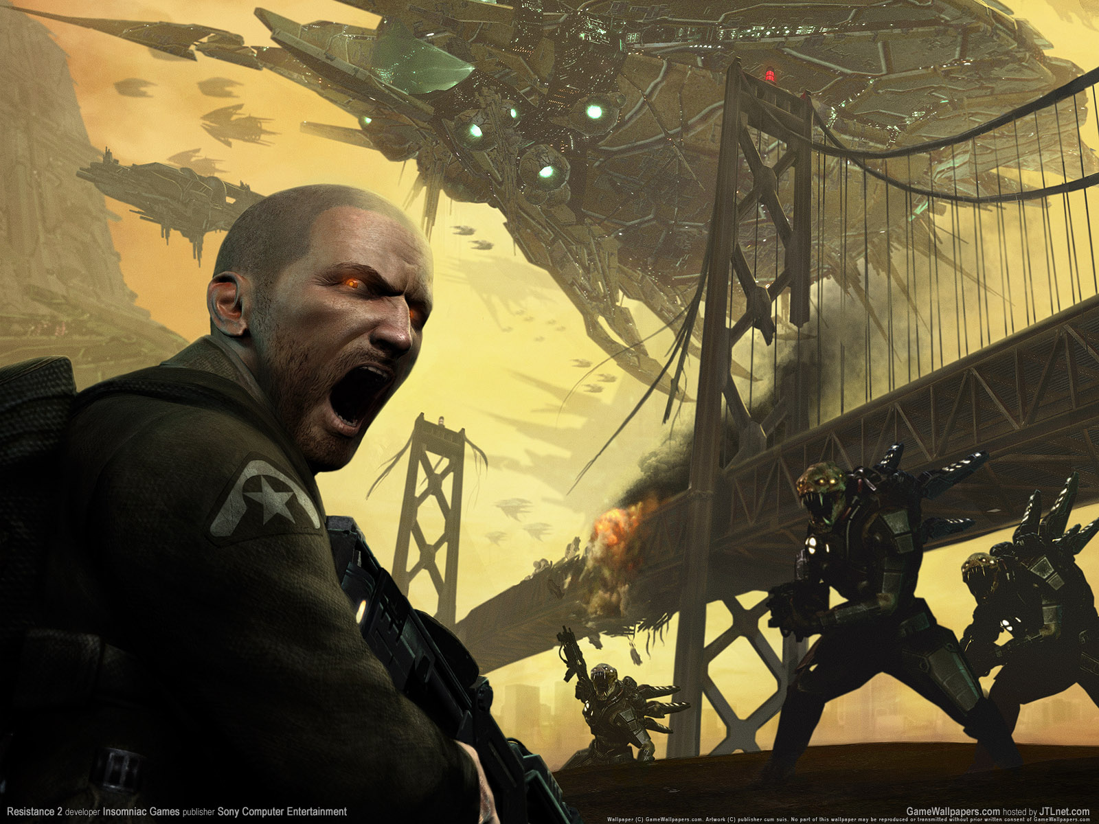 Resistance Fall Of Man Wallpaper Resistance Fall Of Man Wallpaper And Background Image