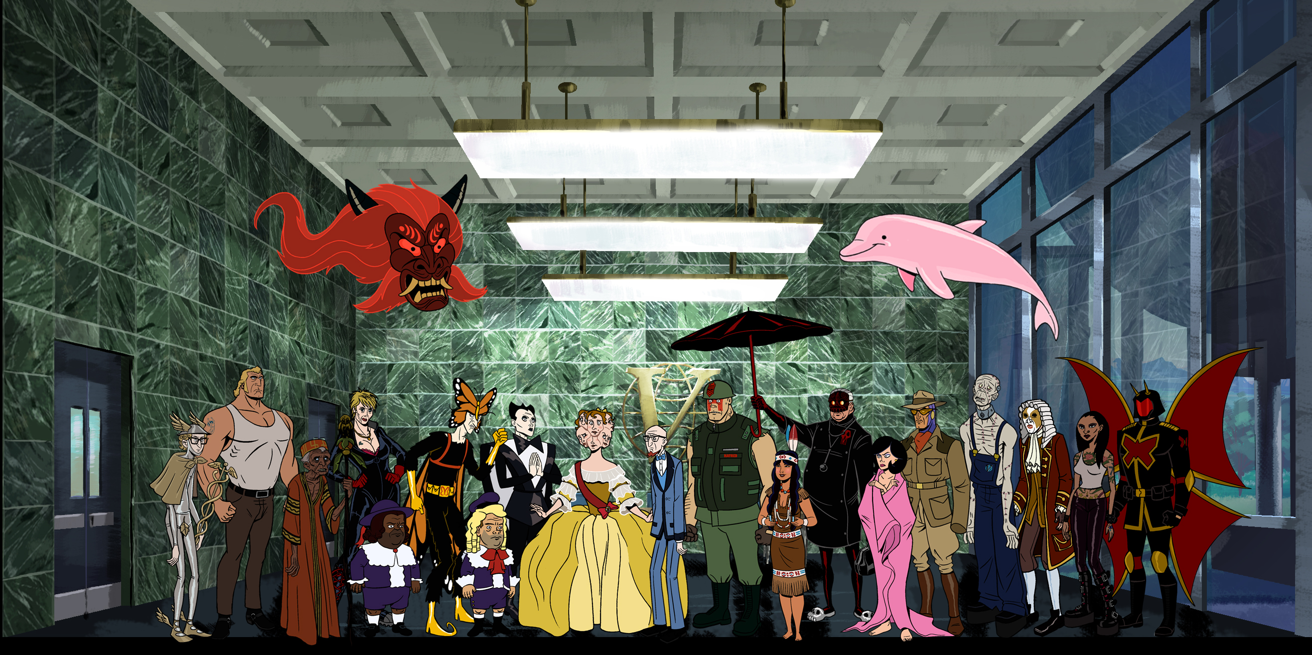 Cool Wallpapers For Little Girls 9 Venture Bros Hd Wallpapers Background Images
