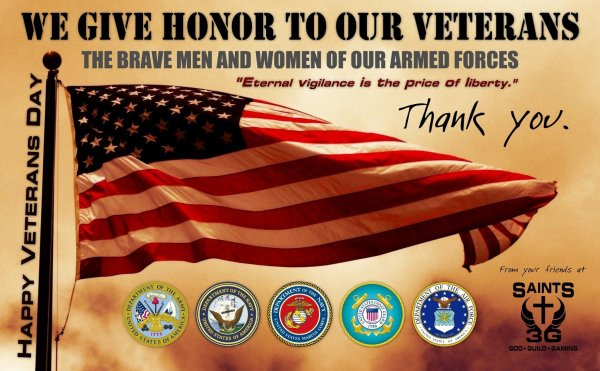 Happy Veterans Day Thank You Quotes
