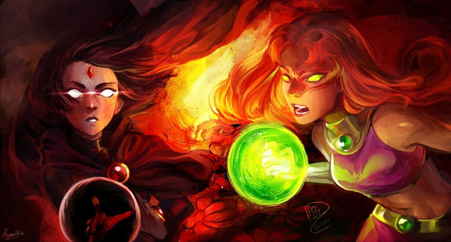 Raven Wallpaper Iphone Teen Titans Wallpaper And Background Image 1500x804 Id