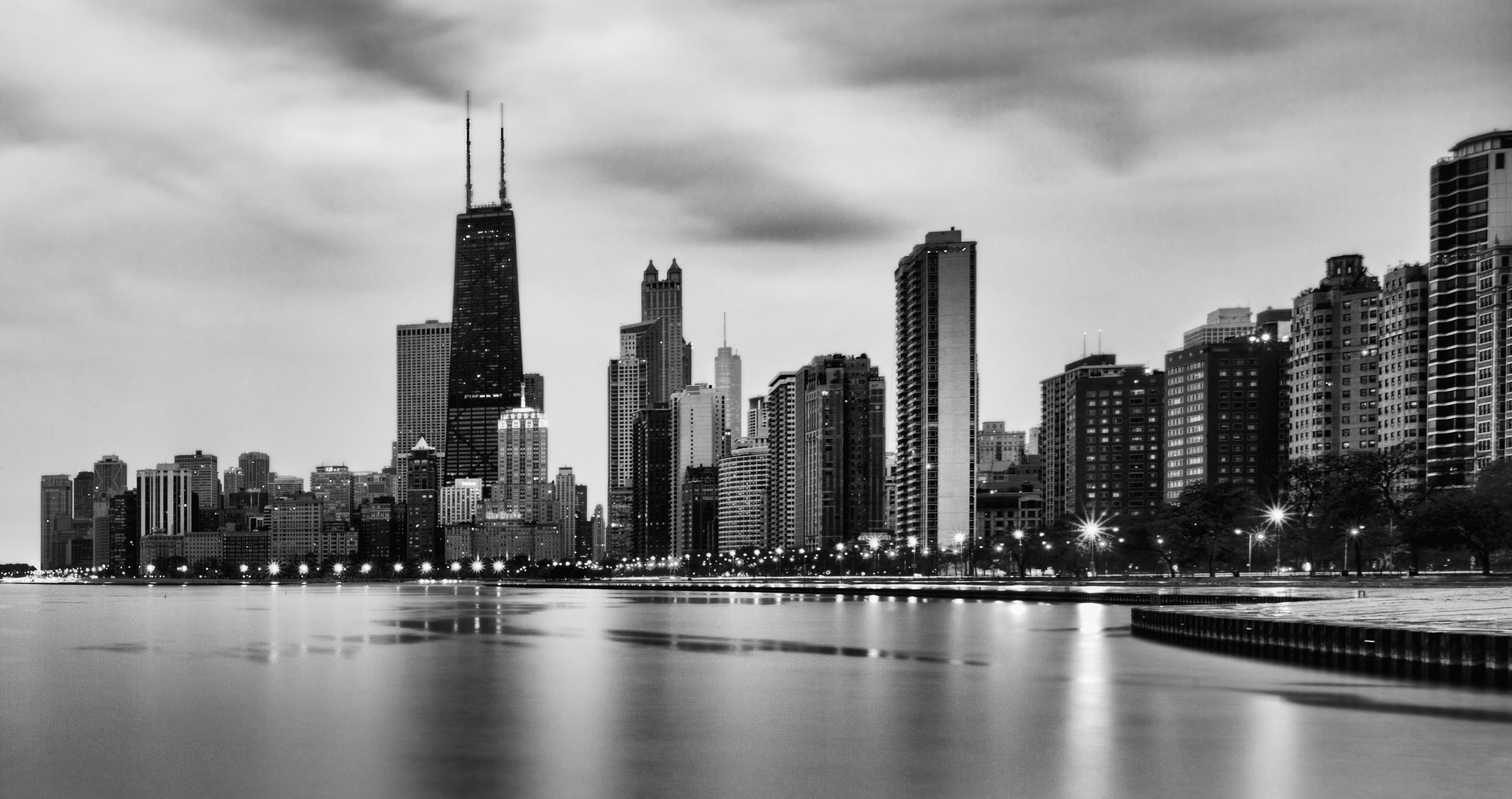 Chicago Iphone X Wallpaper Chicago Hd Wallpaper Background Image 2560x1353 Id
