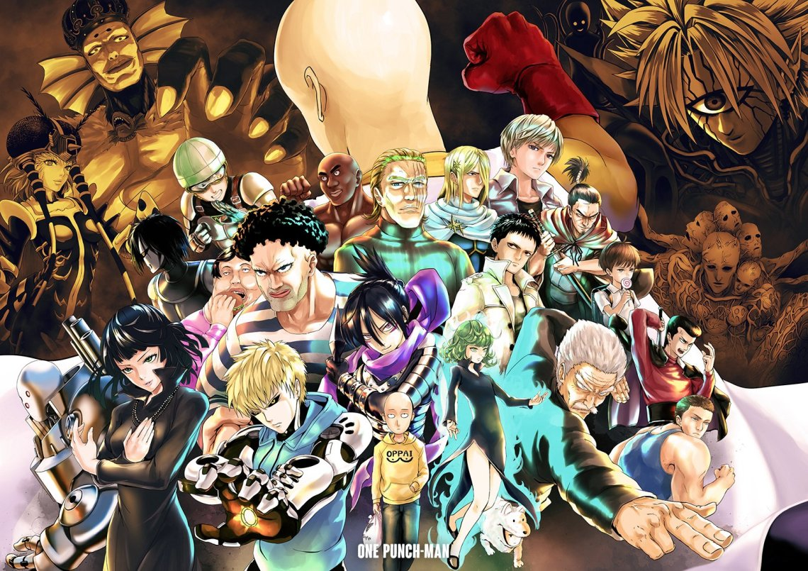 One Punch Man Wallpaper And Background Image 1600x1131