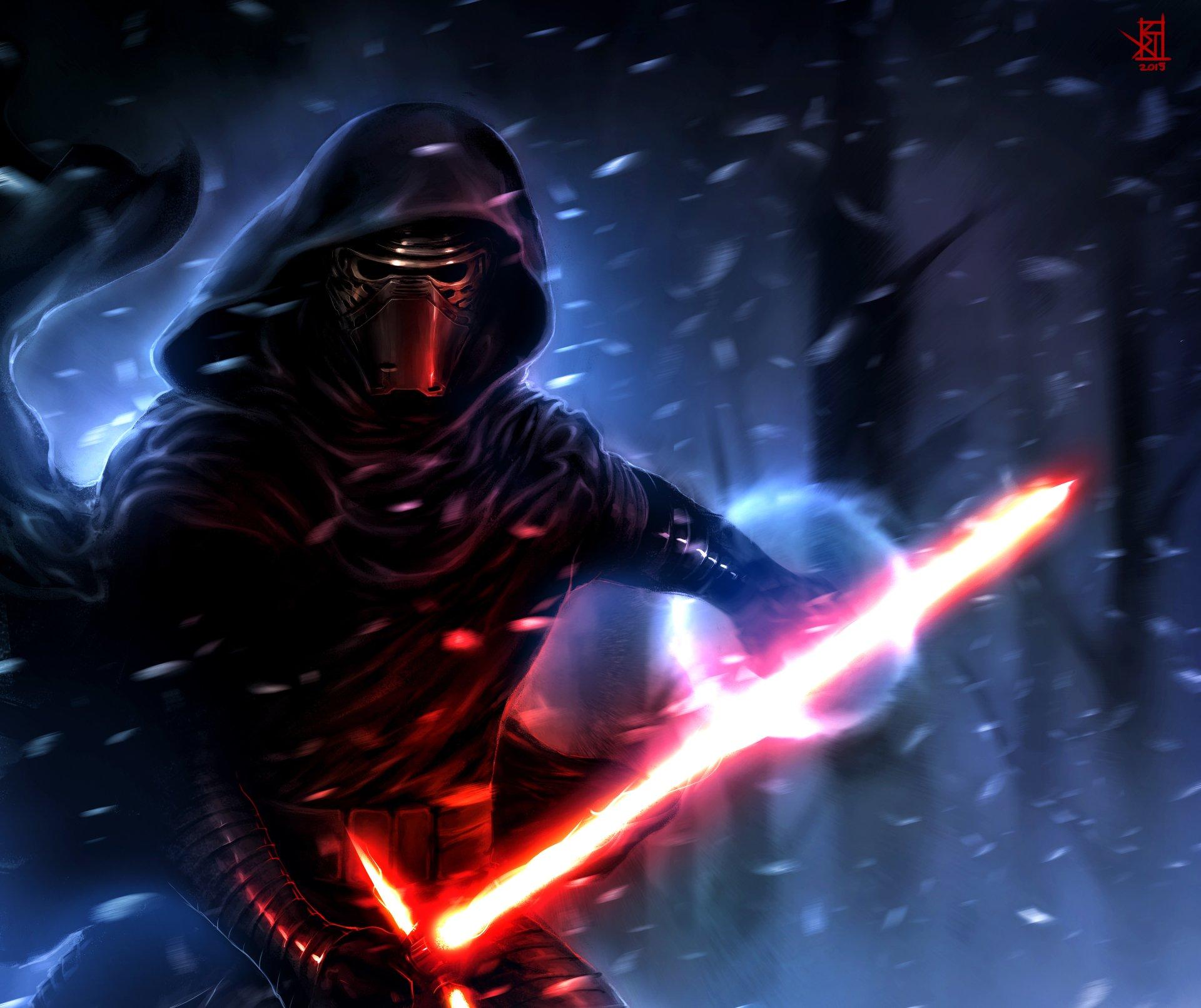 Kylo Ren Wallpaper Iphone X Star Wars Episode Vii The Force Awakens Hd Wallpaper