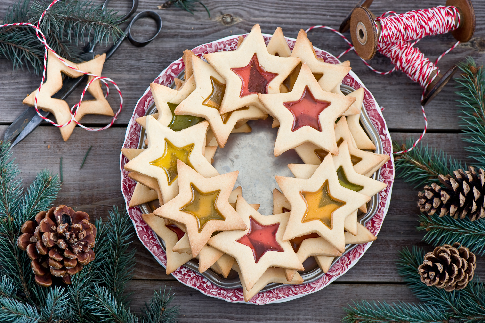 Christmas Cookies HD Wallpaper Background Image