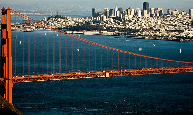 San Fran Bay Area - Places to visit out west