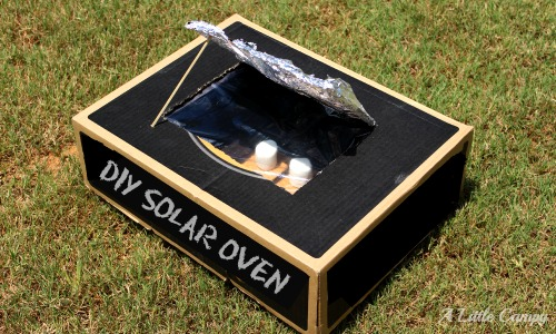 DIY Solar Oven For Cooking Smores