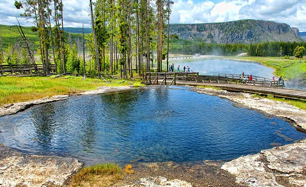 Yellowstone Park - Places to visit out west