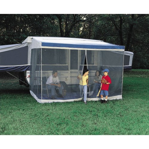 small resolution of dometic trim line screen room with privacy panels dometic awning rooms camping world