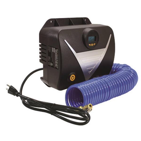 120-volt Tankless Wall-mount Digital Inflator - Plews 16-250 Tire Accessories Camping World