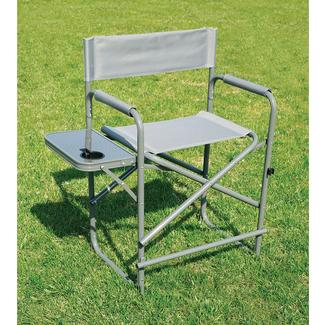 tall fishing chair childs wicker gray director s with solid footrest direcsource ltd rsquo