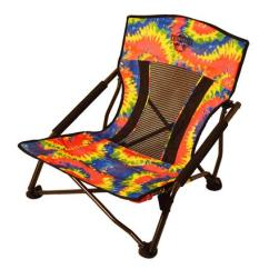 Festival Folding Chair Childs Wooden Table And Chairs Crazy Legs Quad Beach Tie Dye Northern