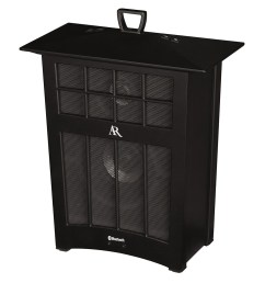 ar portable indoor outdoor bluetooth wireless speaker audiovox awsbt10bk portable audio camping world [ 1000 x 1000 Pixel ]