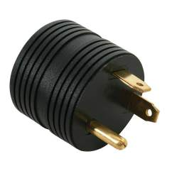 30 amp male to 15 amp female round adapter direcsource ltd 100893 electrical adapters camping world [ 1000 x 1000 Pixel ]