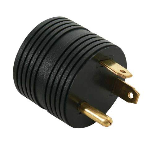 small resolution of 30 amp male to 15 amp female round adapter direcsource ltd 100893 electrical adapters camping world