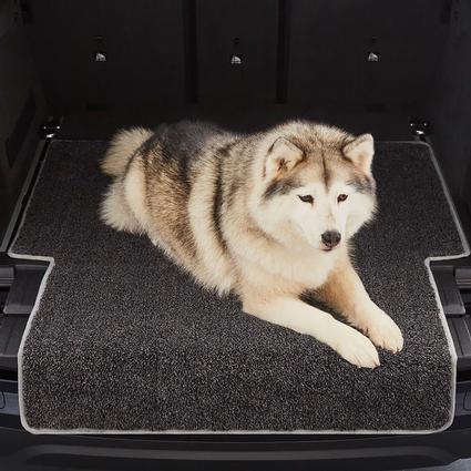 enchanted home mackenzie pet sofa cardboard new leaf rugarmour cargo protector with bumper guard trade